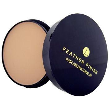Mayfair Feather Finish 34 Hot Honey Shade Face Powder Twist Lid Refill