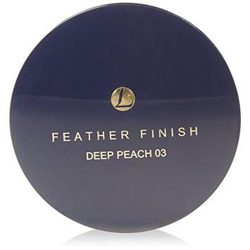 Mayfair Feather Finish 03 Deep Peach Shade Face Powder Twist Lid Refill by Mayfair