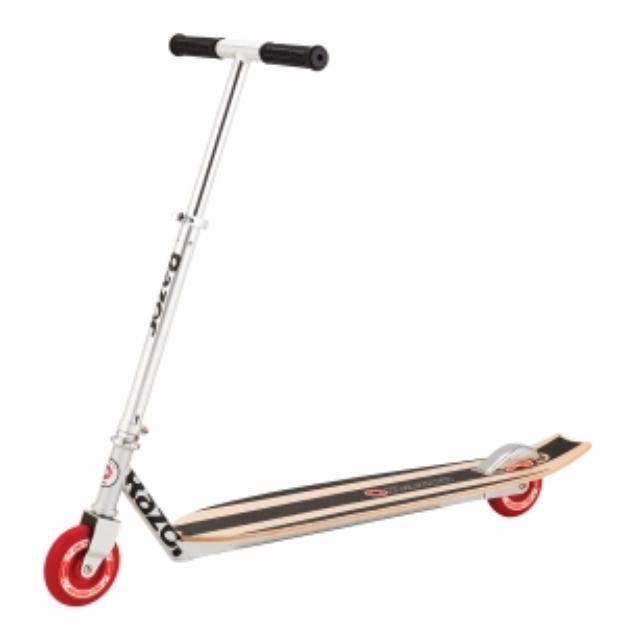 Razor Longboard Scooter - Wood Deck, Silver, 1 ea