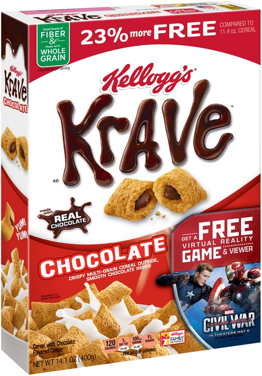 Kellogg's® Krave™ Chocolate Cereal
