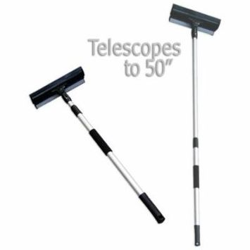 Telescoping Window Cleaner & Squeegee - Reach 9-Feet without Ladder