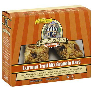 Bakery On Main Gourmet Naturals Extreme Trail Mix Granola Bar, 6 oz (Pack of 6)