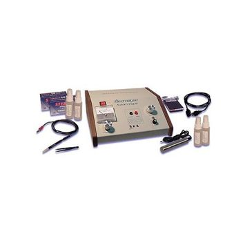 Électrolyse Deluxe Electrolysis Permanent Hair Removal Machine with Accesory Kit: Health & Personal Care