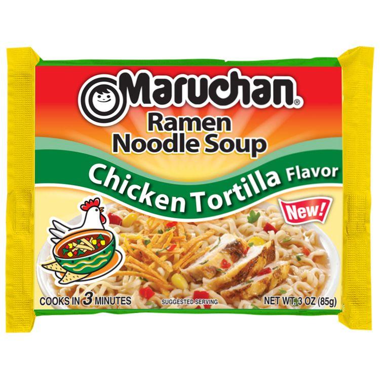 maruchan® chicken tortilla flavor ramen noodle soup