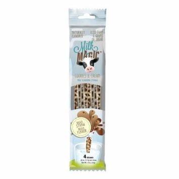 Milk Magic™ Cookies & Cream Milk Flavoring Straws, .18 oz, 4 count
