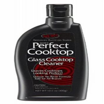 Hope's Perfect Cooktop Cleaner, 10.5-Ounce, Glass Cooktop Cleaning Spray, Removes Stains, No-Rinse Formula, Fast-acting