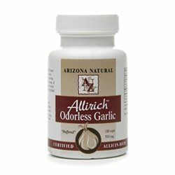Arizona Natural Resources Allirich Odorless Garlic 500mg Dietary