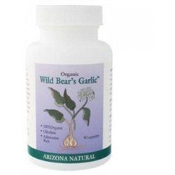 Arizona Natural - Organic Wild Bear's Garlic 235 mg. - 90 Capsules