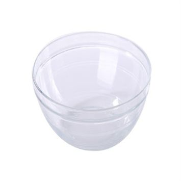 Duralex Lys Stackable Clear Bowl, Size: 1 1/2 Quart
