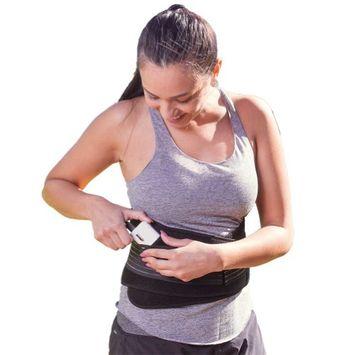 Johnson Smith Co USB Powered Active Heat Back Wrap - Portable & Adjustable - Reduce Swelling