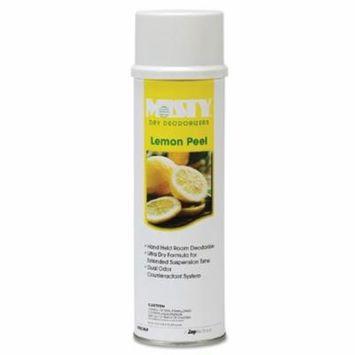 Misty AMRA23820LP Handheld Air Sanitizer/Deodorizer, Lemon Peel, 10oz Aerosol, 12/Carton AMR A238-20-LP