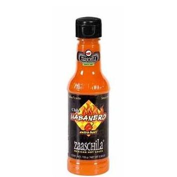 Zaaschila Real Mexican Salsa 9.35oz Bottle (Pack of 3) Choose Flavor Below (Habanero - Extra Hot (Red))