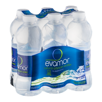 Evamor Natural Artesian Water - 6 CT