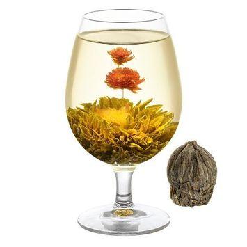 WELLTEA Spring Scenery Artisan Flowering Green Tea (100g)