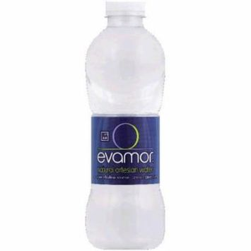 Evamor Natural Artesian Water, 32 fl oz, (Pack of 12)