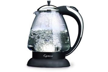 Capresso H2O Cordless Glass Safety Water Kettle - REFURBISHED