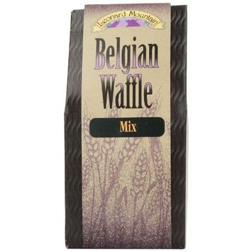 Leonard Mountain Belgian Waffle Mix, 19-Ounce Box (Pack of 4)
