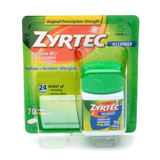 Zyrtec Allergy Tablets