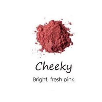 Cheeky Cosmetics Natural Mineral Powder Blush Cheeky - Bright Fresh Pink