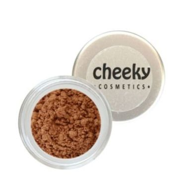 Cheeky Cosmetics Natural Mineral Powder Bronzer - Beach Babe for Tanned Skin - 10 Grams