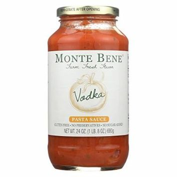 Monte Bene Pasta Sauce - Vodka - Case of 6 - 24 Fl oz.