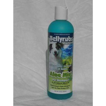 Bellyrubs Organic 12-Ounce Pet Shampoo, Aloe Mist