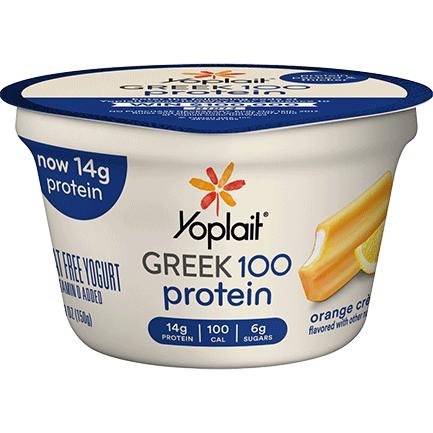 Yoplait® Greek 100 Protein Orange Crème Yogurt