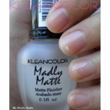 Kleancolor Madly Matte CLEAR Finisher Top Coat Nail Polish Manicure Pedicure #90