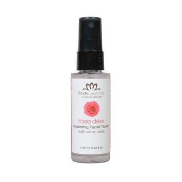 Rose + Aloe Hydrating Facial Spray Bodyceuticals 2.25 oz Liquid