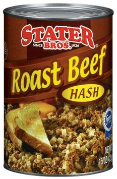 Stater bros Roast Beef Hash