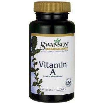 Swanson Vitamin A 10,000 Iu (3,000 mcg) 250 Sgels