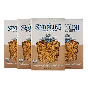 Sfoglini Organic Saffron Malloreddus Pasta, 4 Count, 16 Ounce [Saffron Malloreddus]