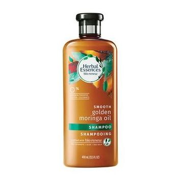 Herbal Essences Bio:Renew Smooth Shampoo Golden Moringa Oil 13.5 oz.(pack of 3)