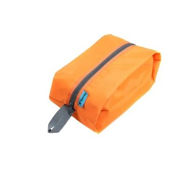 Docooler Waterproof Portable Travel Tote Toiletries Laundry Shoe Pouch Storage Bag (Orange)