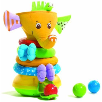 Tiny Love 584 - Musical Stack and Ball Game - Elephant