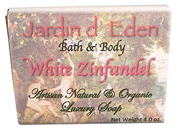 White Zinfendel Wine Natural & Organic Bar Soap