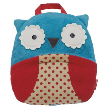 Zoo Toddler Travel Blanket with Pillow - Owl by Skip Hop