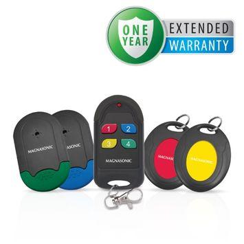 Magnasonic Wireless Key Finder w/ Locator, 4 Receivers & 1 Year Extended Warranty - MGWF300