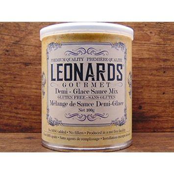 Leonards Gourmet Demi-glace Sauce Mix, Gluten Free, Nut Free Facility, 100g