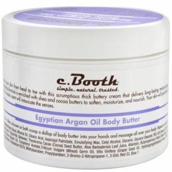 4 Pack - c. Booth Egyptian Argan Oil Body Butter 8 oz