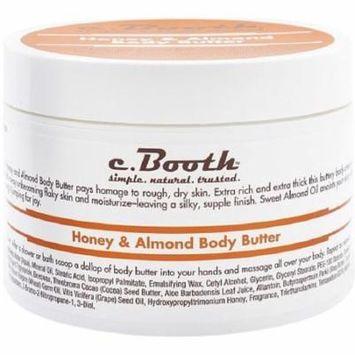 c. Booth Honey & Almond Body Butter 8 oz