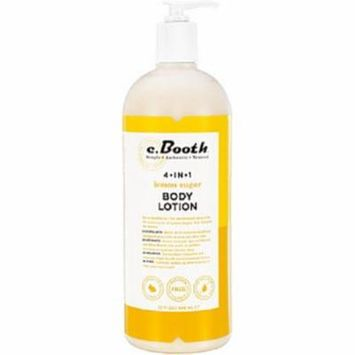 4 Pack - c. Booth 4-in-1 Multi-Action Body Lotion, Lemon Sugar 32 oz