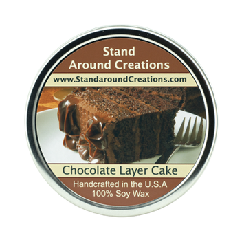 CHOCOLATE LAYER CAKE TIN 16-OZ.