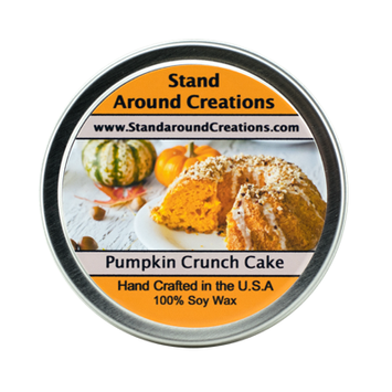 PUMPKIN CRUNCH CAKE TIN 8-OZ.
