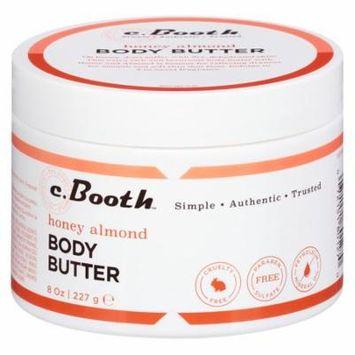 c. Booth Honey Almond Body Butter Honey Almond8.0 oz.(pack of 2)