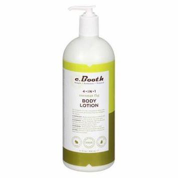 c. Booth 4-in-1 Multi-Action Body Lotion Coconut Fig32.0 fl oz(pack of 1)
