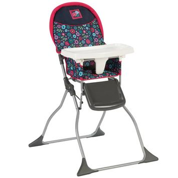Cosco Simple Fold Plus High Chair - Flower Garden