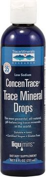 Trace Minerals Research Trace Mineral Drops ConcenTrace? - 8 fl oz (Pack of 2)