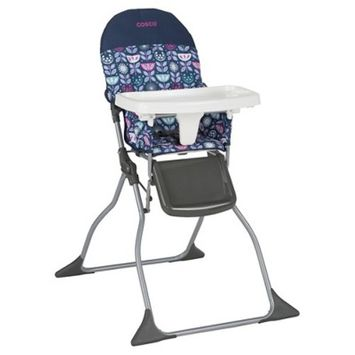 Cosco Simple Fold High Chair - Poppy Field