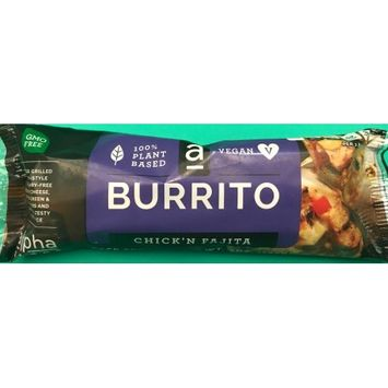 The Miso Brothers, Inc. Alpha Chik'n Fajita Burrito